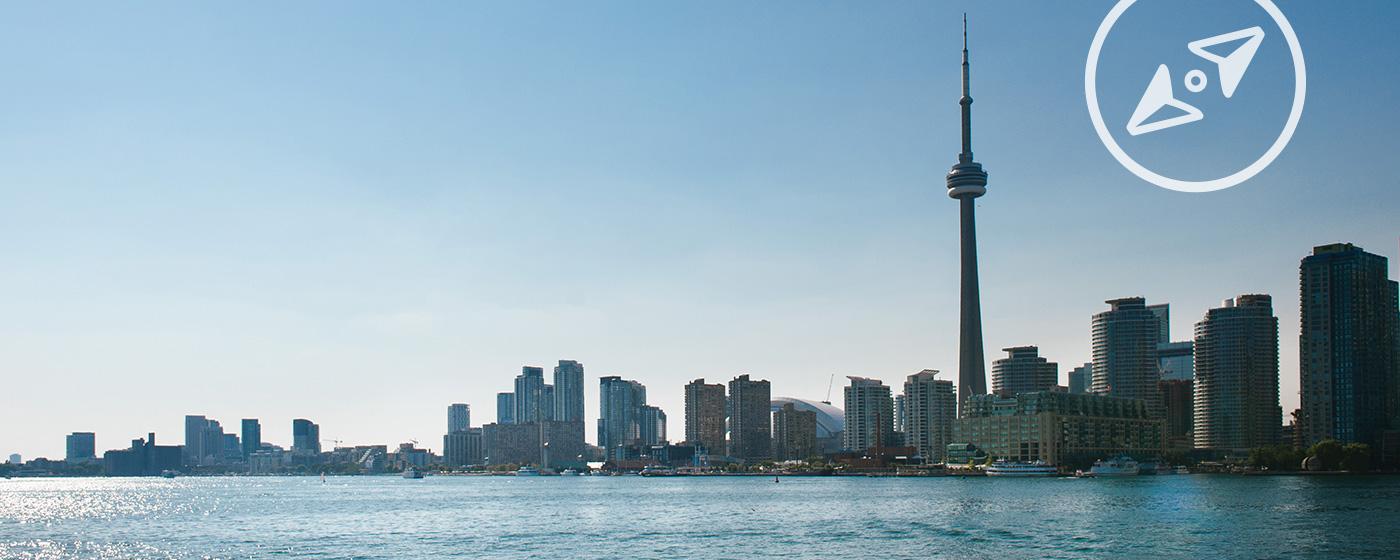 Skyline CN Tower, Toronto